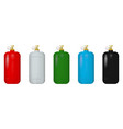gas cylinders vector image