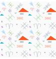Latvian Pattern 3 vector image vector image
