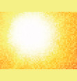 orange tile geometric summer background vector image vector image