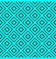 seamless pattern with rhombus vector image vector image
