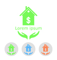 Concept of house sale vector image