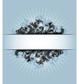 7floral line 65 1 vector image vector image