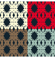 Bright pattern 4 vector image vector image