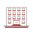 building big square icon image vector image vector image