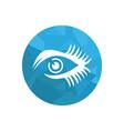 eyelash logo vector image