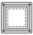 frame set pattern vector image