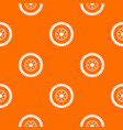 gear wheel pattern seamless vector image vector image