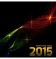 Happy 2015 new year vector image vector image