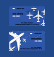 plane traveling on aircraft airplane jet vector image vector image