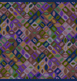 seamless colorful abstract geometrical mosaic vector image vector image