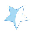 star award prize decoration icon vector image