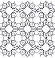 Art Nouveau Linear Pattern vector image vector image
