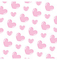 beauty heart love symbol background vector image vector image