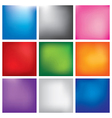 Blur abstract background set vector image vector image