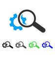 seo tools flat icon vector image vector image