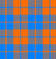 tartan fabric texture seamless pattern orange and vector image vector image