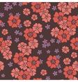 pattern poppy vector image