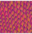 Seamless wave hand-drawn pattern Bright pattern vector image