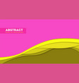 abstract paper cut design and multi layers forms vector image vector image