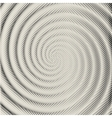 background spiral with a volume effect vector image vector image