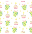 Birthday celebration seamless pattern vector image