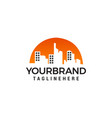 building logo design concept template vector image vector image