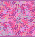 colorful seamless abstract geometrical mosaic vector image vector image