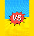 duel and fight vertical concept vector image vector image