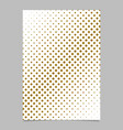 halftone diagonal square background pattern vector image vector image
