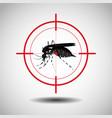 kill mosquito flat icon designlogo vector image
