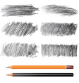 pencil drawings vector image vector image