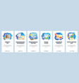 photo editor software smartphone application vector image vector image