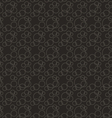 Seamless Pattern Stylish Texture with Interlacing vector image vector image