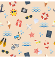 Seamless summer flat pattern