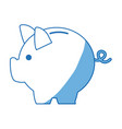 banking piggy concept safety money financial icon vector image vector image