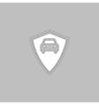 Car guard computer symbol vector image