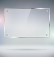 Glass Plate vector image