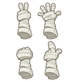 Mummy hand vector image vector image