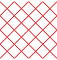 Red White Grid Chess Board Diamond Background vector image vector image