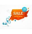 Sale Label Concept vector image