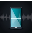 voice messages design vector image