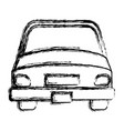 car vehicle isolated icon vector image