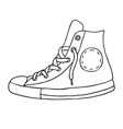 Gumshoes icon vector image