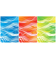Abstract wave element vector image vector image