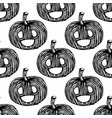 autumn pumpkin seamless are used in textile design vector image vector image