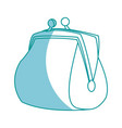 cartoon money purse safe finance icon vector image