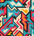 colored african seamless pattern vector image vector image