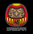 daruma tattoo designs vector image
