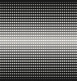 geometric halftone seamless pattern curved lines vector image vector image