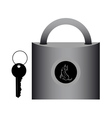 lock for doors vector image vector image
